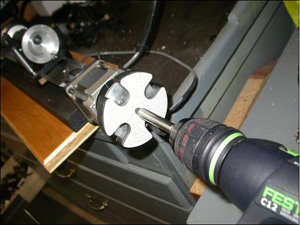 Rapid Traverse for the Sherline Lathe